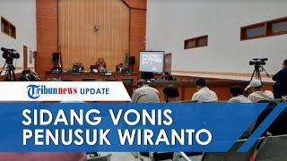 Aparat Kepolisian Jaga Ketat Sidang Vonis Penusuk Wiranto di PN Jakarta Barat