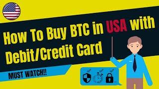 Am besten kaufen Bitcoin mit Debitkarte in den USA