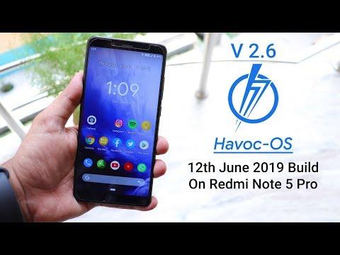 HavocOS V2 6 [12/06/2019] On Redmi Note 5 Pro || Still Best