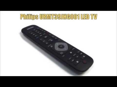 PHILIPS URMT39JHG001 TV Remote Control