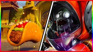 INTENSE CAPTURE THE TACO GAME | Plants vs Zombies Garden Warfare