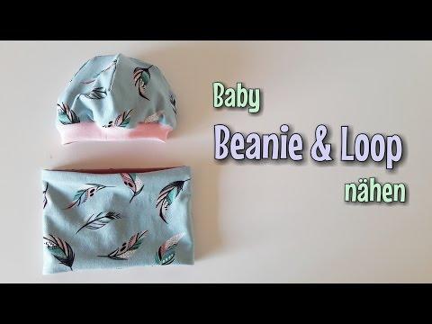 Beanie Loop Set - Für Anfänger - OHNE Schnittmuster - Nähtinchen