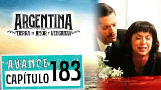 """Avance emitido el miércoles 27 de noviembre de 2019 en eltrece, correspondiente al capítulo 183 de """"Argentina, tierra de amor y venganza""""."""