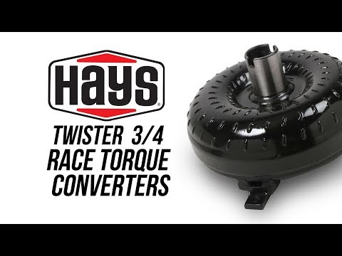 Hays Twister 3/4 Race Torque Converter 1968-81 GM TH350