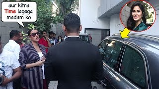 Katrina Kaif Shows ATTITUDE To PREGNANT Neha Dhupia, Makes Her Wait Outside Her Car For Long Time