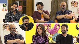 Rana Interviews Venky Mama Movie Team   Venkatesh   Naga Chaitanya   Suresh Babu