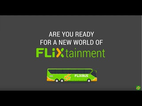Long bus ride ahead? Time will fly by with Flixtainment!