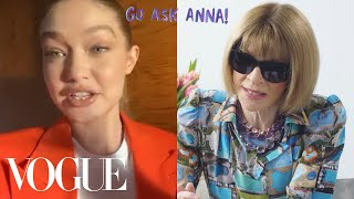 Anna Wintours Fashion Month Favorites And Go-To Interview Question | Go Ask Anna | Vogue