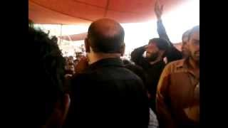 preview picture of video 'Mukhtar ali sheedi live nohay at my village. By Zohaib Hassan'