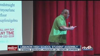 Lebanon High School students hear about dangers of heroin