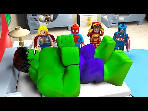 ALARM CLOCK Wake Sleeping HULK Attack Cartoon Animation Movie Avengers Superheroes OLAF