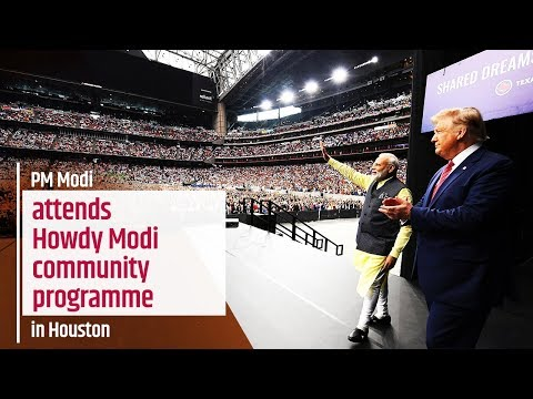 PM Modi attends Howdy Modi community programme in Houston