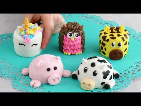 Download Mini ANIMAL CAKES! Cutest Cakes EVERRR! HD Mp4 3GP Video and MP3