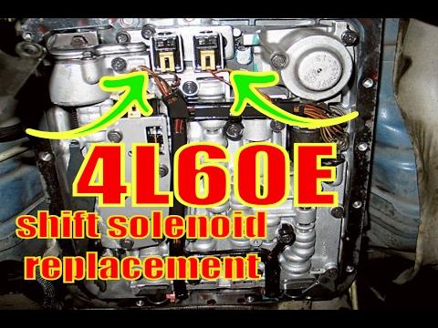 4L60E 1-2 & 2-3 shift solenoids. A & B solenoids.