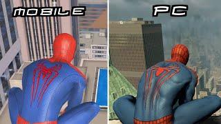 The Amazing Spider man 2 Mobile Vs Pc | spider-man 2021!