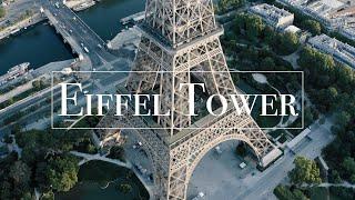Eiffel Tower Drone 4k