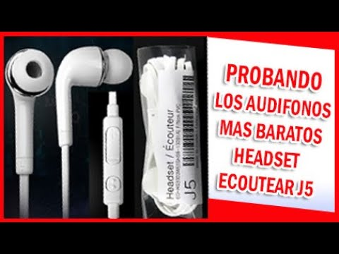AUDIFONOS HEADSET ECOUTEAR J5