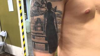 End of the world tattoo by Daksi