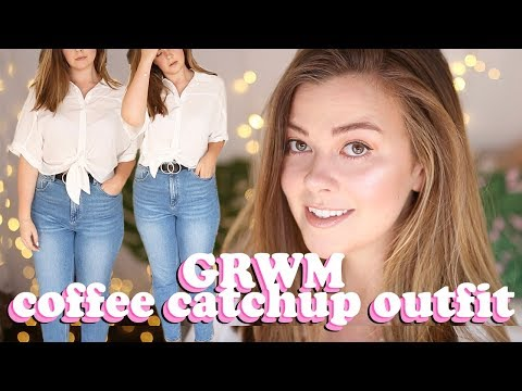 SIZE 14 GET READY WITH ME - COFFEE DATE OUTFIT | LUCY WOOD