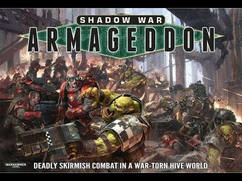 Painting shadow war armageddon part 1 -live