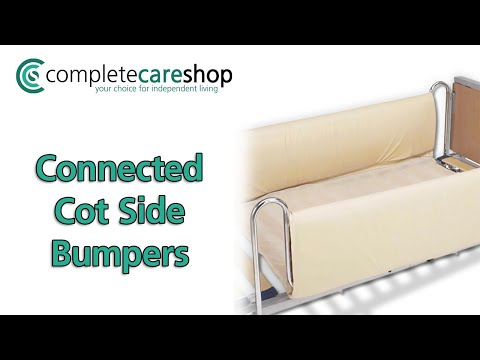 How To Correctly Fit The Connected Cot Side Bumpers