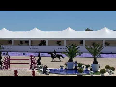 6th place for Jos and Luciano van het Geinsteinde in the LR 1m45 Grand Prix CSI2** St-Tropez