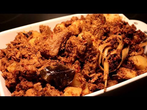 Resep Rendang Babi Enak (Delicious Pork Rendang Recipe)