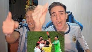 SUSCRIBITE A IAN LUCAS!! https://youtube.com/Ianlucasoficial?sub_confirmation=1  HAZ VIDEOS CONMIGO: https://www.youtube.com/FranMG/join  SUSCRIBITE a mi NUEVO CANAL!! https://www.youtube.com/FranMG10?sub_confirmation=1  REACCIONES DE UN HINCHA ENOJADO en el partido Argentina Chile por el tercer puesto de Copa América Brasil 2019. Like & Subscribite! Mi opinión de las mejores jugadas y goles y penales del partido de Chile vs Argentina. Relato Argentino (Pollo Vignolo)! Ganó Argentina vs Chile 2-1 con Ian Lucas  Like & Suscribite! :D http://www.youtube.com/user/TheFranMG?sub_confirmation=1  Seguime en mi Instagram: http://instagram.com/fran Seguime en Twitter: http://twitter.com/Fraaanchuuu Dame like en Facebook: http://facebook.com/TheFranMG  Reacciones de amigos al Chile vs Argentina 1-2 Copa América 2019