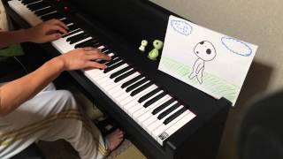 もののけ姫より、アシタカとサン をピアノで弾いてみた