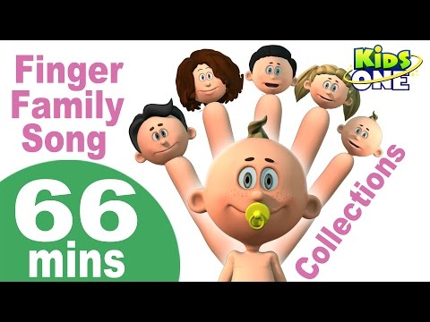 Finger Family Song | Rain Rain Go Away & More Popular Nursery Rhymes Collection for Kids