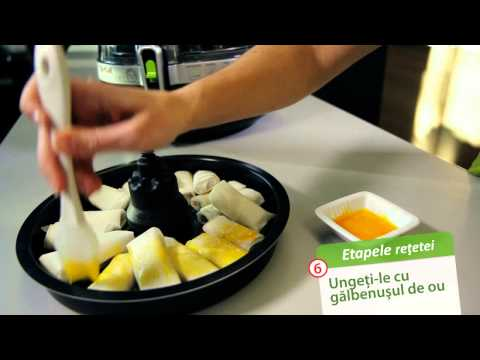 Friteuza Tefal Actifry 2 in 1: Banane cu batoane de ciocolata