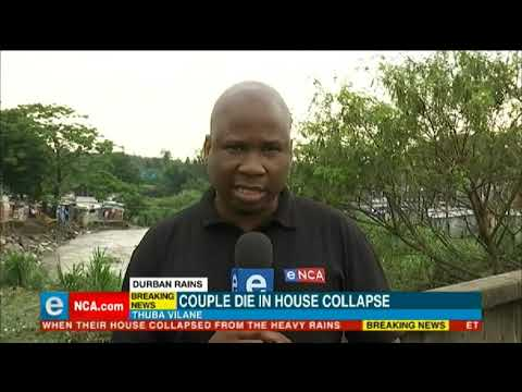 Couple die in house collapse