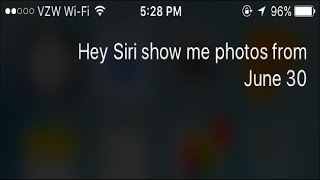 How to Use Siri to Search Your Photos by Date or Location
