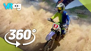 Off Road Motorcycle Race in VR 360° (5K)