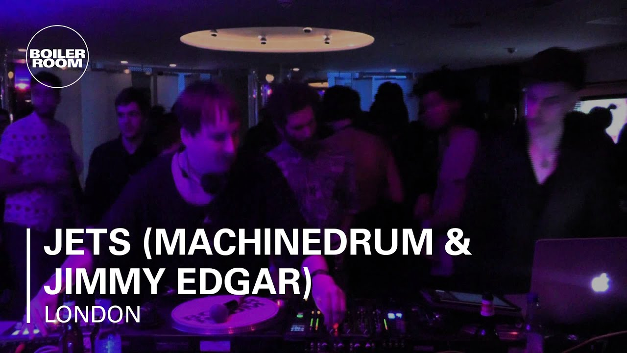 Jimmy Edgar, Machinedrum - Live @ Boiler Room at W Hotel London 2012