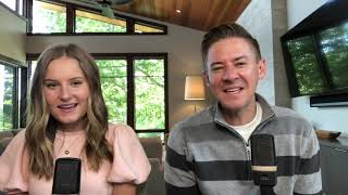 Daddy Daughter Duet - Let It Be - Beatles Cover - Mat And Savanna Shaw