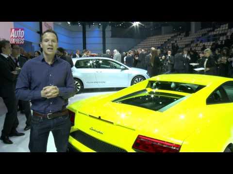 New Lamborghini Gallardo at the Paris Motor Show - Auto Express