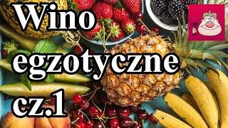 Kiwi, Ananas, Granaty - robimy Wino! :) Wino egzotyczne cz.1