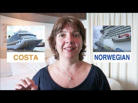 Review Norwegian Epic Cruise Compared to Costa Favolosa