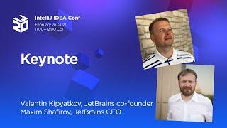 Keynote. 20 Years  of IntelliJ IDEA (2021)