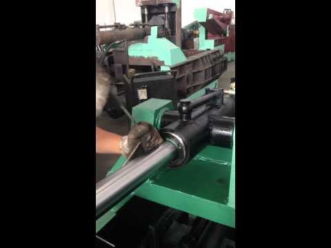 Ремонт гидравлического цилиндра пресса Y81-1350, часть 1