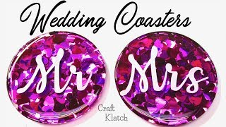 Wedding Confetti Coasters DIY | Another Coaster Friday | Craft Klatch