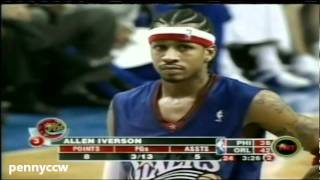 NBA Greatest Duels: Allen Iverson vs. Tracy McGrady (2004)