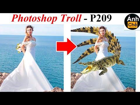 Ảnh Chế  💓 Photoshop Troll (P 209), James Fridman, Ghép thêm con cá bơi quanh người em với ạ!