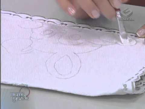 Pintura em tecido - Artesanato - Acrilex