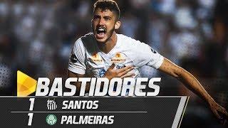 Santos 1 x 1 Palmeiras | BASTIDORES | Brasileirão (19/07/18) | Kholo.pk