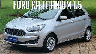 Avaliação: Ford Ka Titanium 1.5 automático