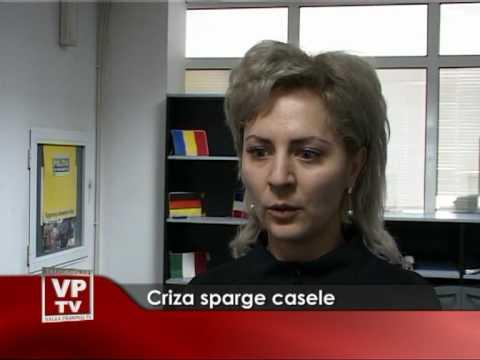 Criza sparge casele
