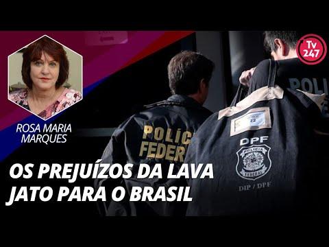 Rosa Maria Marques fala sobre os prejuízos da Lava Jato