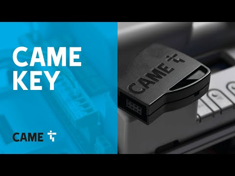 CAME KEY, the wi-fi device for faster installation of automatic gates, road barriers & garage doors